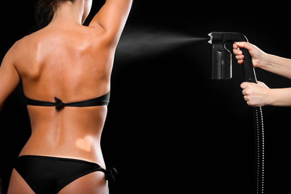 Spray tanning - C-beauty room
